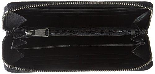 Liebeskind Berlin Sally7 Vintag, Portafogli Donna, 2,3 x 9,3 x 19 cm Nero (Black)