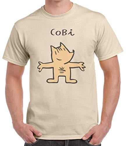 Divertida camiseta Divertidas. 100% algodón con Corte recto y costuras laterales