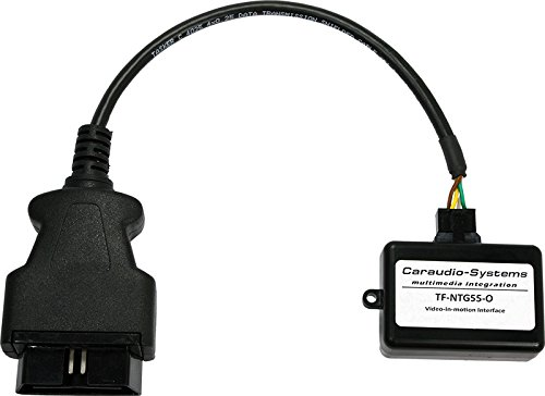 Caraudio-Systems TF-NTG55-O OBD Video Freischaltung passend für Mercedes Benz mit Navigationssystemen Comand Online NTG5.5 E-Klasse W213 schwarz/silber