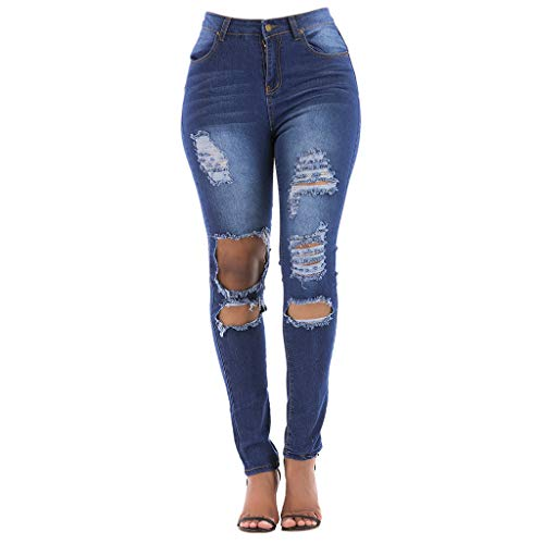 Younthone Damen Hose Cargo Relaxed-Fit