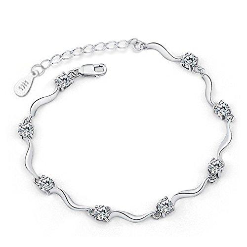 pulsera-multiples-circonitas-blanco-diamante-de-plata-de-ley-ajustable-regalo-perfecto-para-mujer