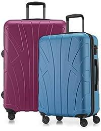 Suitline - Set de 2 Trolleys - Ensemble Valise en différentes Couleurs Tailles