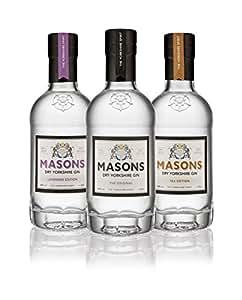 Masons Yorkshire Gin Trio Box, 20 cl