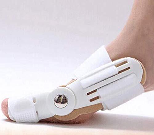 Shop of Wonder │ 1 Hallux Valgus Fußschiene │ universell für den rechten und den linken Fuß geeignet │ ausgestattet mit komfortablen Klettverschlüssen