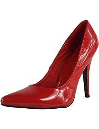 Loudlook Nouveau Femmes Dames Haut Talon Aiguille F¨¦tiche Going Out Pompes Chaussures Grandes Tailles 9-12