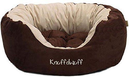 Knuffelwuff 12664 Hundebett Dooly – Größe L, 80 x 75 cm sehr weich gepolstert - 3