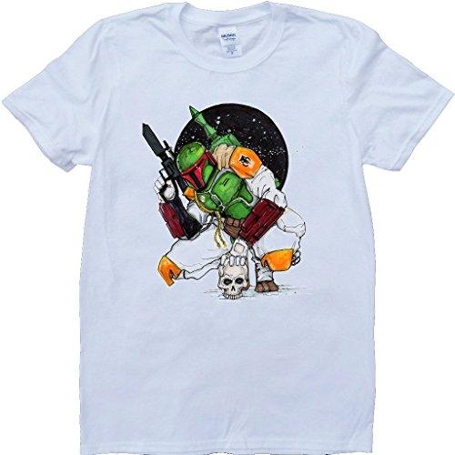 Stern Kriege Boba Pett Weiß Benutzerdefinierten Gemacht T-Shirt Weiß