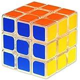 Flipzon High Stability Stickerless - 3x3x3 Speed Cube, Multi Color