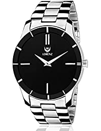 Lorenz Analogue Black Dial Men's Watch / Boys Watch - Mk-1076A