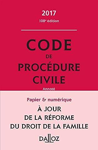 Code de procédure civile 2017 - 108e