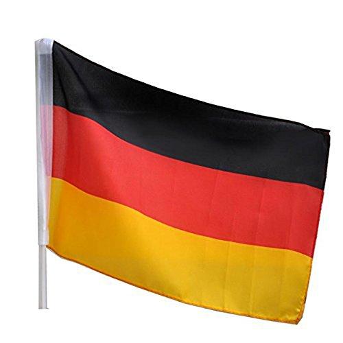 Idena 8310097 Autofahne Deutschland (Partyartikel In Der Masse)