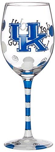 NCAA Kentucky Wildcats Drinkware Wein Glas, One size/12oz, Multicolor ()