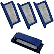 Liloee 1 Reusable Filters & 3 Disposable Ultra-Fine Filters For Philip-s Respiro