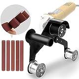 KKmoon Accessori per Adattatore Cinghia Abrasiva Levigatrice per Tubo Profesional per Levigatrice Angolare Multifunzionale Levigatrice