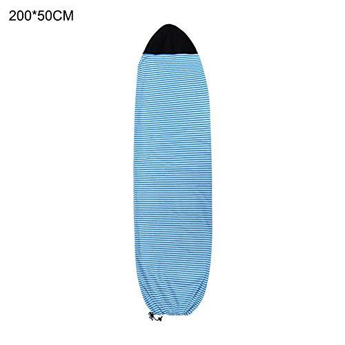 Chaussette de surf Sac de rangement protecteur pour housse de protection légère pour planche de surf Qick Dry Surfboard Chaussettes Housse de protection pour planche de surf de 6.3 '' / 6.6 '' / 7 ''