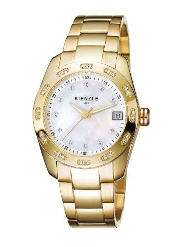 Kienzle - K3022024032-00018 - Montre Femme - Quartz Analogique - Bracelet Acier Inoxydable Jaune