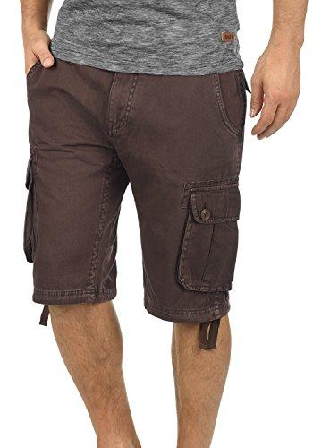 !Solid Vizela Herren Cargo Shorts Bermuda Kurze Hose Aus 100% Baumwolle Regular Fit, Größe:S, Farbe:Coffee Bean (5973) Cargo-cord-hose