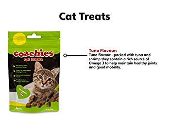 Company of Animals THE Coachies Friandises pour Chat thon 65 g