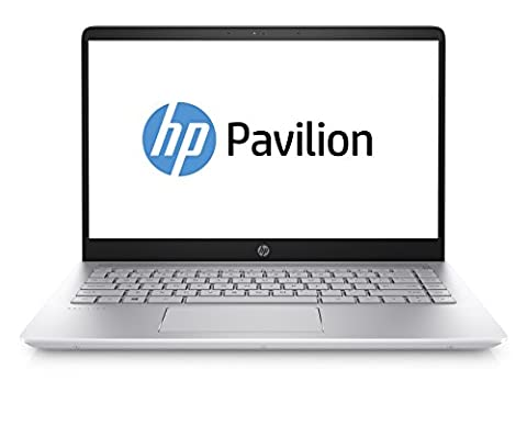 HP Pavilion 14-bf000ng 35,6 cm (14 Zoll) Notebook (Intel Core i5-7200U, 8 GB RAM, 1 TB HDD, 256 GB SSD, NVIDIA GeForce 940MX, Windows 10 Home 64) silber