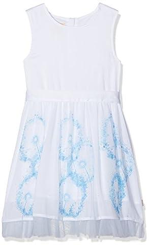 Pezzo D'oro Mädchen Kleid Sommerkleid, Elfenbein (Creme 2102), 164
