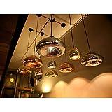 Retro clásico moderno de cristal de Murano, arte creativo arte de hierro minipendant arañas de cristal, lámparas de techo, lámparas de araña de cristal-396 lighting 220-240 V-Gold