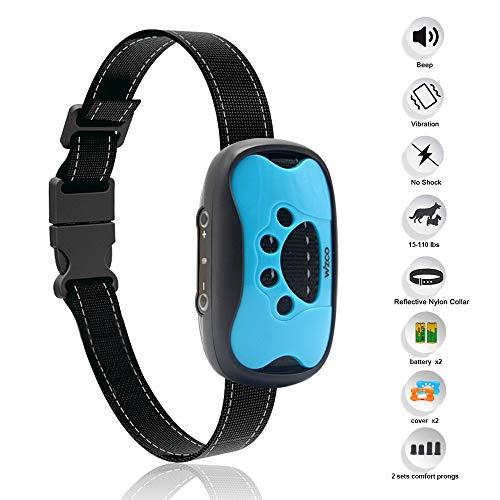 Wizco-Collar de Control de Ladridos Para Perros-Collar de entrenamiento antiladrido humano-vibración sin...