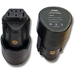 2x Batterie Li-Ion 1500mAh (12V) vhbw pour outils AEG BLL12C, BS12C, BS12C2, BSS12C, BWS12, BWS12CBWS remplace 3520, 3526, 4932, 584932, 954932, L1215