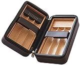 GERMANUS Zigarren Humidor Kassette mit Zedernholz Interieur für Reise und Transport