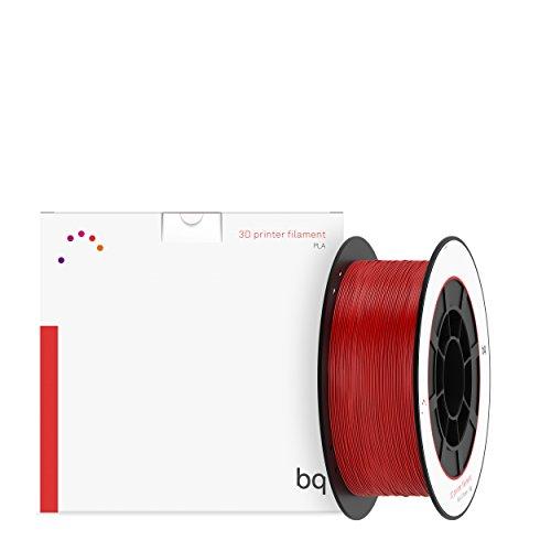 BQ 05BQFIL029 - Filamento de PLA para impresión 3D, color rojo