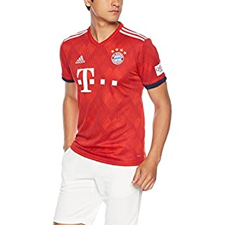 adidas Herren 18/19 FC Bayern Home Trikot FCB True Strong red/White, XL