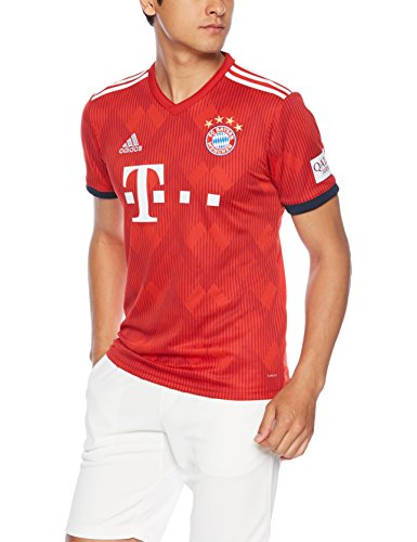 ADIDAS Herren 18/19 FC Bayern Home Trikot, FCB True Strong red/White, XL