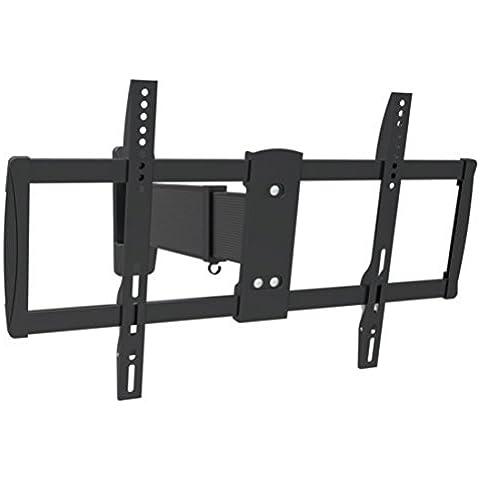 Störch - Soporte mural para televisores con VESA 200 x 200 a 600 x 400 (distancia de la pared: 48 a 515 mm, capacidad de carga: 30-50 kg) negro negro VESA 600