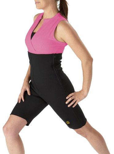 Everlast Ladies All In One Body Weight Slimmer Shorts Workout Exercise
