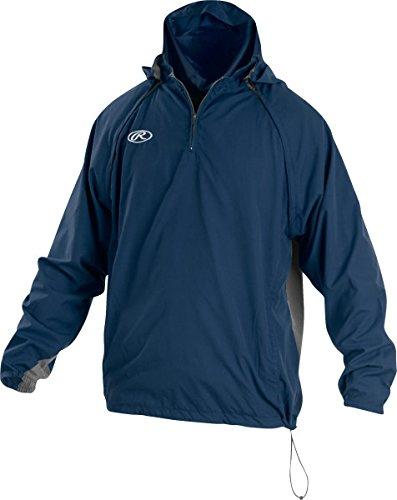 Rawlings Sporting Goods Herren Jacke mit abnehmbaren