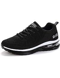 meet e283e d9885 Axcone Homme Femme Chaussures Air Baskets Running Fitness Sport Sneakers