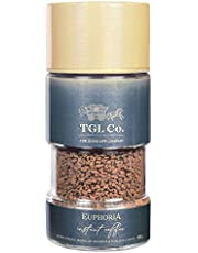 TGL Euphoria Instant Coffee Powder (100 gm)   Extra Strong Blend of Arabica & Robusta Coffee Beans
