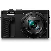 Panasonic Lumix DMC-TZ80EG-K Fotocamera, 18,1MP, Zoom Ottico 30x Post Focus, 4K Photo & 4K Video, Nero