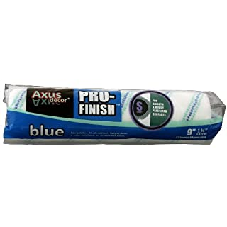Axus Décor Pro-Finish Farbroller-Bezug, Flor kurz, Blau
