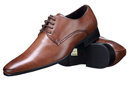Reservoir Shoes - Chaussure Derbie Austin Brown Marron