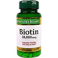 Nature's Bounty - Ultra magnesio della biotina 10000 di resistenza.