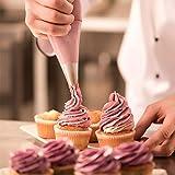 InnoGear drehbar Tortenplatte weiß Tortenständer Drehteller Cake Decorating Turntable mit 2 Stück Tortenmesser Set, 3 Stück Teigspachtel, für Backen Gebäck, Zuckerguss, Kuchen, 28 x 28 x 7 cm - 8