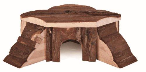 Trixie, Haus aus Holz für Nagetiere, 21x 7x 19cm