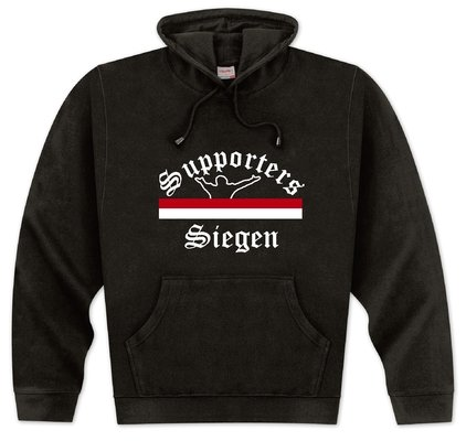 World of Football Kapuzenpulli Supporters-Siegen - M