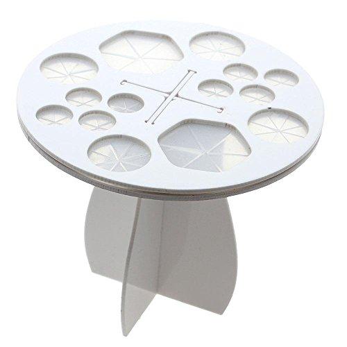 SuperglockT Make Up Pinsel Halter Pinsel Aufbewahrung Kosmetikpinsel Trockner Bürstenhalter Acryl...
