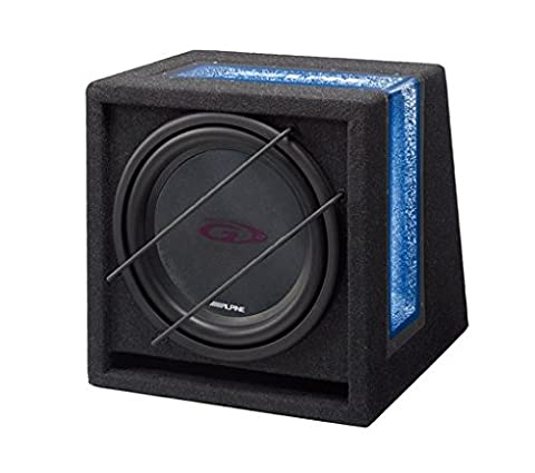 Alpine SBG-1244 12 inch Ready to Use Band Pass Subwoofer