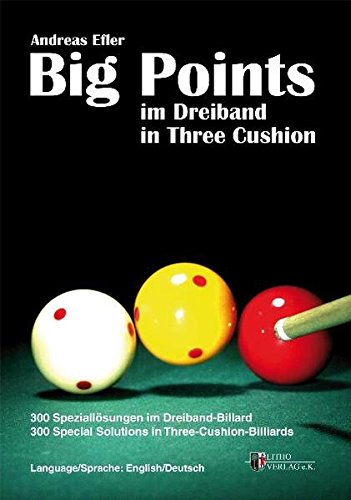 Price comparison product image Big Points in Three Cushion: 300 Special Solutions in Three-Cushion-Billiards