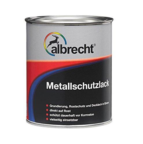 Preisvergleich Produktbild Albrecht Metallschutzlack 0001 750 ml, weiß, 3400606747000100750