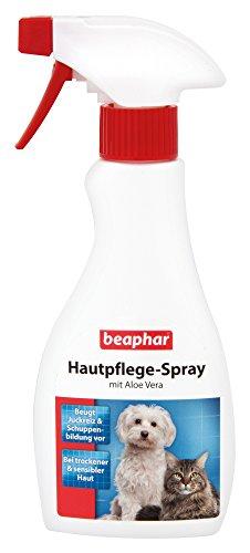 beaphar Hautpflege Spray für Hunde und Katzen | Gegen trockene und schuppige Haut | Beugt Juckreiz...