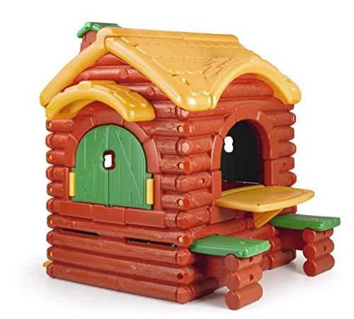FEBER Cabane - Maison de jeux au design cabane pour garçons et filles de 2 à 5 ans (Famosa 800002884)
