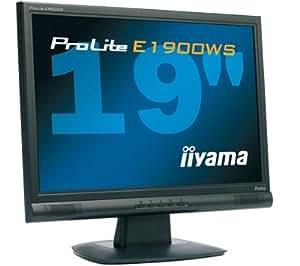 "iiYama PLC1900WTV-B1 Moniteur LCD TN 19"" wide Tuner TV 1440 x 900 5 ms Noir"